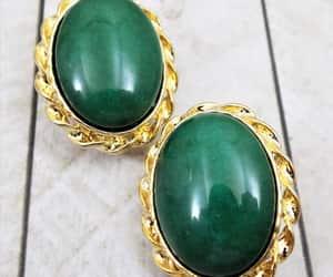 etsy, christmas earrings, and gemstone earrings image