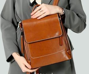 satchel, vintage bag, and backpacks image