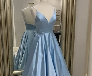 evening dresses, beauty, and fashion image