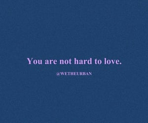 quotes, hard to love, and wetheurban image