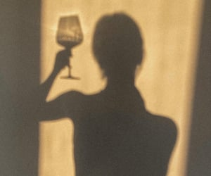 shadow and wine image