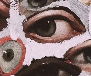 eyes, wallpaper, and aesthetic image