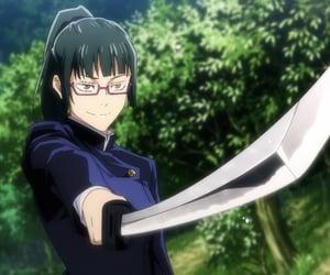 anime girl, jjk, and jujutsu kaisen image