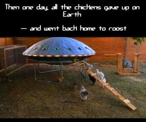 aliens, humour, and joke image