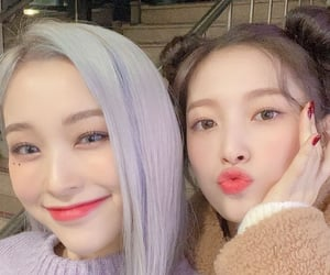 dreamcatcher, arin, and oh my girl image
