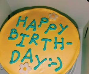 birthday, happy birthday, and birthday cake image