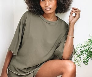 Afro, curl, and slim image