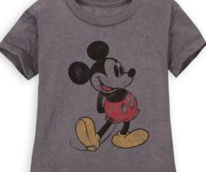 disney, t-shirt, and mickey image