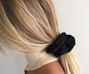 blonde, girl, and ombre image