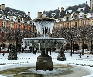 fountain, france, and french image