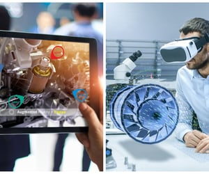 education, technology, and virtual reality image