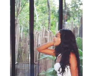 black hair, natural, and nature image