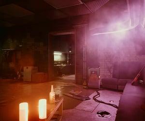 cyberpunk, nightlife, and dressing room image