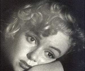 black, marilyn, and woman image