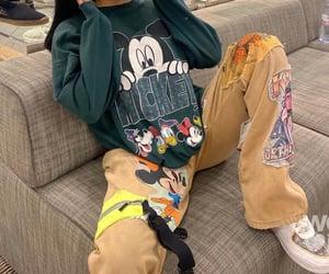 nike, fashion, and mickey image
