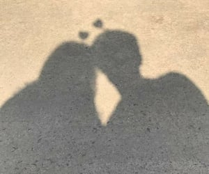 couple, no face, and shadow image