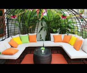 h, video, and garden furniture image