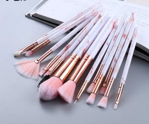 Brushes, makeup, and makeup brushes image