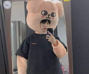 mirror, skzoo, and kpop image