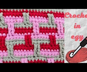 crochet, handmade, and stitch image