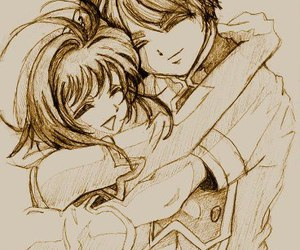 love, anime, and sakura image