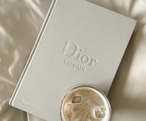 dior, aesthetic, and coffee image