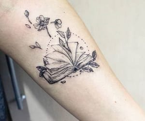 arm, art, and book image