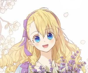 anime girl, athanasia, and spoon image
