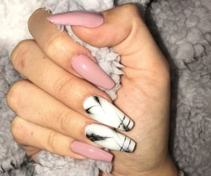 nails, marble, and art image