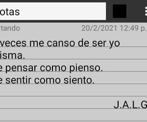 notas, sentimiento, and frases image