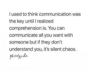 chaos, communication, and silent image