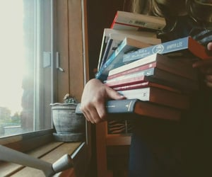 bibliophile, books, and home image
