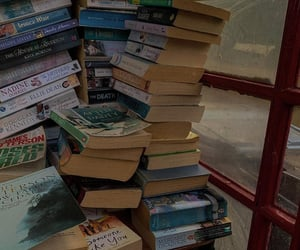 aesthetic, books, and bibliophile image