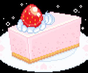 aesthetic, cake, and gif image