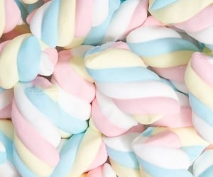 aesthetic, pastel, and marshmallow image