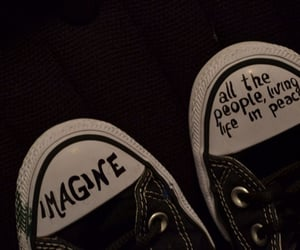 converse, imagine, and peace image