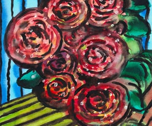 abstract art, artwork, and blumen image
