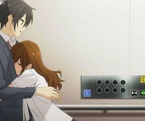anime, anime couple, and anime lovers image