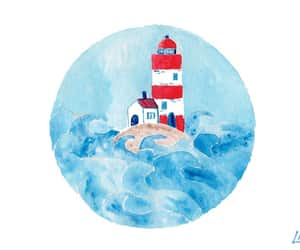 etsy, home decor, and nautical art image