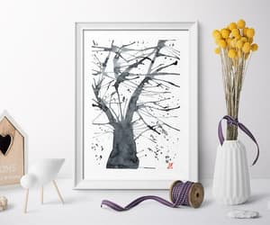 Chinese painting, etsy, and home decor image