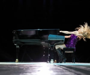 T, piano, and Taylor Swift image