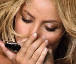 blonde, gypsy, and harmonica image