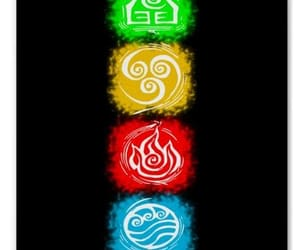 air, avatar, and fire image