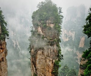 wander lust, china, and tianzi mountain image
