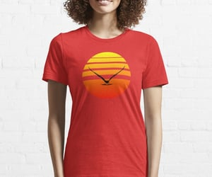 bird, tee, and flight image