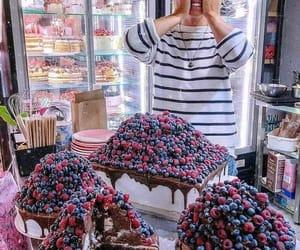 cake, nourriture, and yumii image