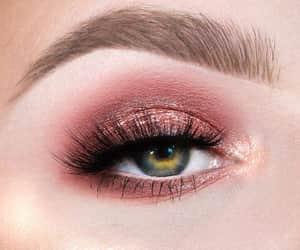 make up, rose gold, and belleza image