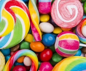 candy, colorful, and hard candy image