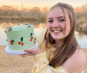 birthday cake, kawaii, and cake image