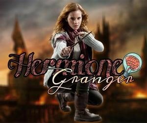 harry potter, hogwarts, and hermonie granger image